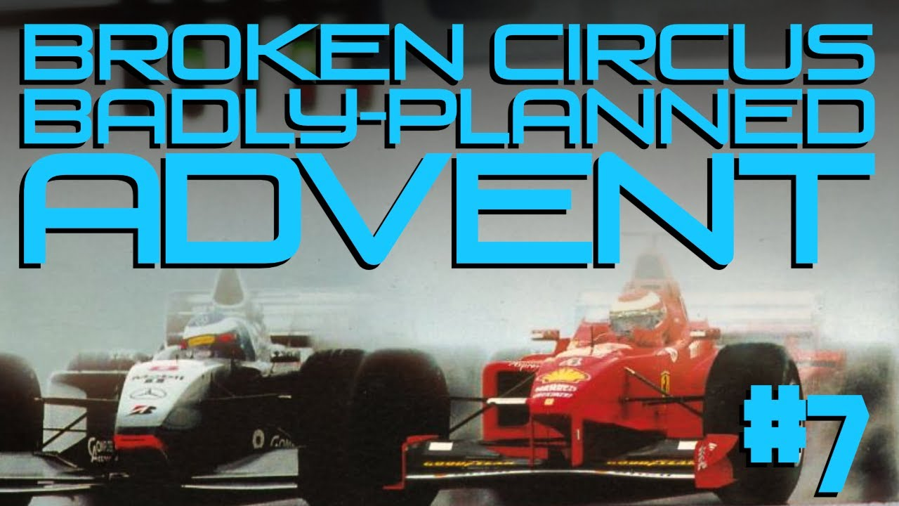 Grand Prix 3 – Day 7 of Advent 2019